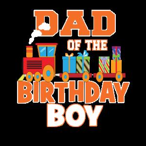 Papa des Geburtstagskindes Zugliebhaber Bday Party