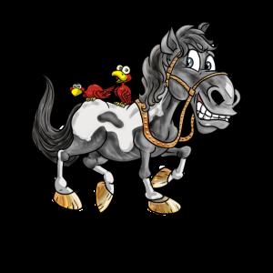 Süßes Pferd Pony Cartoon Comic Kinder Geschenk