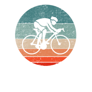 Vintage Fahrrad Fahrradfahrer Fahrradtour Design