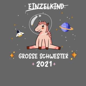 Große Schwester 2021 Astronauten Einhorn Planeten