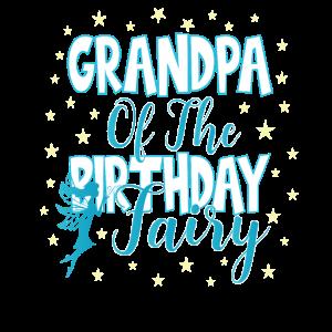 Opa der Geburtstagsfee Prinzessin Mädchen Party