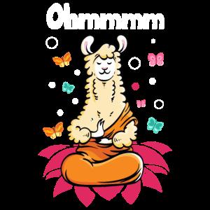 Alpaka Yoga Lama Spruch Lamaste