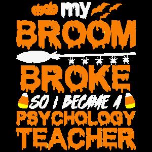 Mein Besen brach und wurde Psychologielehrer