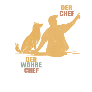 Wahrer Chef Hund Hundebesitzer Hundeschule
