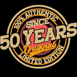 50. Geburtstag Original 50 Jahre Geschenk