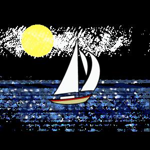 Segelboot, Meer
