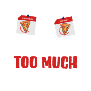 Wochenendpizza