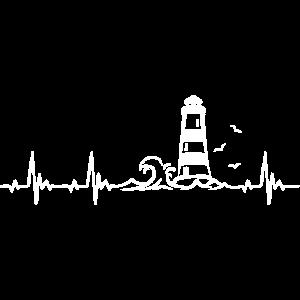 Leuchtturm Ostsee Nordsee Herzschlag Frequenz Puls