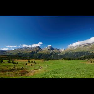 Alp Flix Panorama