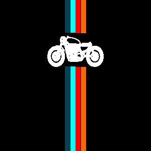 Motorrad Cafe Racer Retro Design