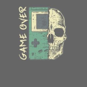 Game over Gaming Spruch Outfit für Zocker Gamer
