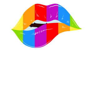Love Is Love Pride Month Lips Rainbow