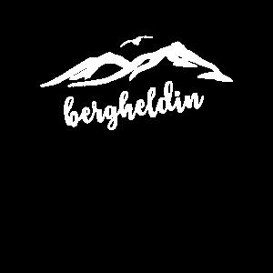 Bergheldin Berg Mädel Bergsteigerin Bergprinzessin
