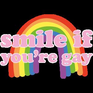 lächle wenn du schwul bist