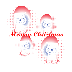 Meowy Christmas, Weihnachtskatze