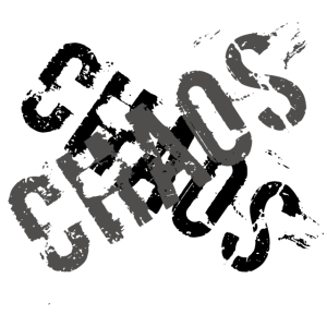 Chaos Stylishes Design für echt Chaoten