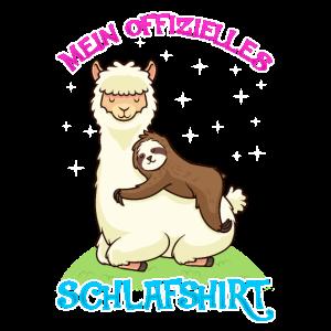 Alpaka Schalfshirt