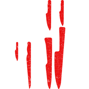 American Flag Sous Chef Knife