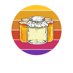 Retro-Marmelade Haushaltskonserven-Landwirtschafts