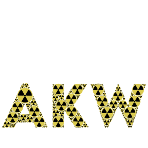 Anti-Atomkraft FCK AKW Atomkraft Symbol