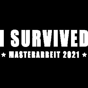 Studium beendet 2021 Masterarbeit Abschluss
