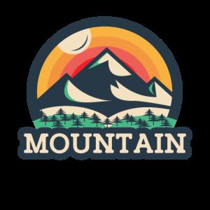 Mountain Berge Wandern Eisberg Geschenk Vintage