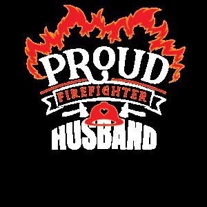 Stolze Feuerwehrmann Ehemann Wertschätzung Familie