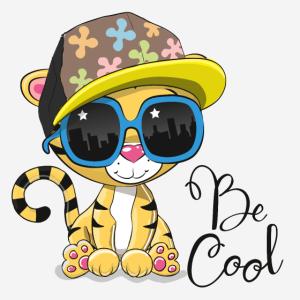 Sei cooler Tiger