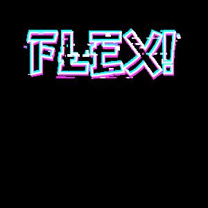 Flex flexen chill chill out glitch
