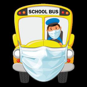 Zurück in die Schule Design für einen Busfahrer