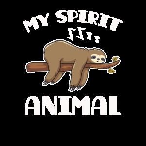 Faultier Spirituelles Tier