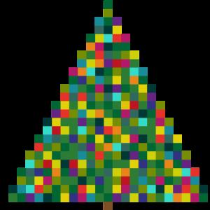 X MAS TREE - Pixel