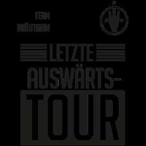 Letzte Auswärtstour JGA Team Bräutigam