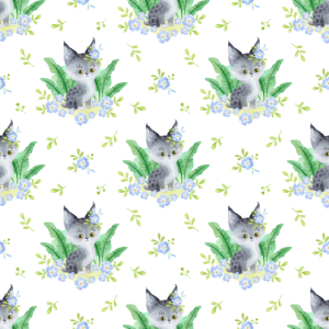 Baby Tier Hals Gamasche Baby Lynx mit Blume