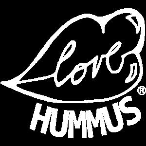 Liebe Hummus MONOCHROM WEISS