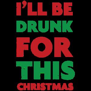 Betrunkene Weihnachten