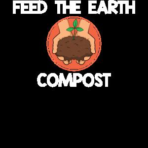 Umweltkompostierungsfutter Der Erdkompost