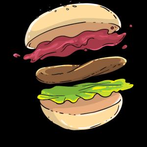 Hamburger Burger Feinschmecker