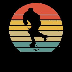 Retro Eishockey Hockey