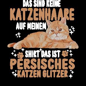 Perser Katze Katzen Glitzer