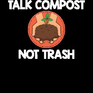 Lustige Kompostierung Umwelt Talk Kompost nicht