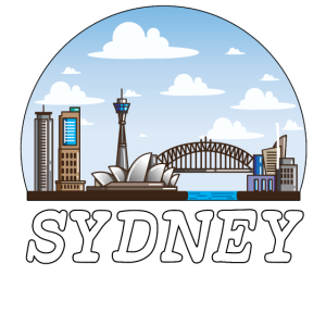Sydney Astralia Down Under Skyline