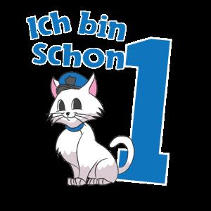1. Geburtstag Erster Polizei Katze Geschenkidee