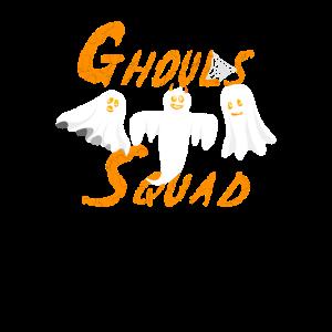 Ghouls Squad Kürbis Geister Truppe Manschaft