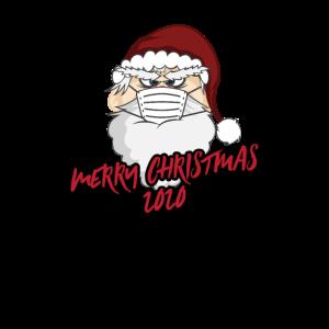 Merry Christmas 2020 Weihnachtsmann Face Mask