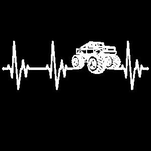 Monstertruck Herzschlag Herzfrequenz