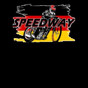 Speedway Fahrer (schwarz/rot) Deutschland