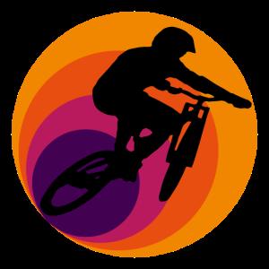 Retro Downhill Mountainbike