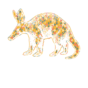 Aardvark geometrische Hemden