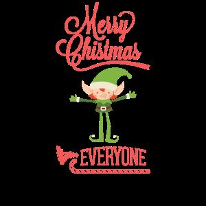 Merry Christmas Elf - Weihnachten